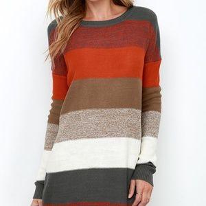 161e06b1f0f Jack by BB Dakota Marilou Striped Sweater Dress
